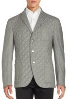 Corneliani Long Sleeve Button Front Jacket