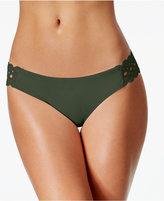 Becca Siren Eyelet Hipster Bikini Bottoms Women's Swimsuit