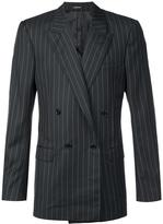 Alexander McQueen pinstriped blazer - men - Viscose/Wool - 50