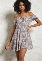 Forever 21 Off-the-Shoulder Floral Dress