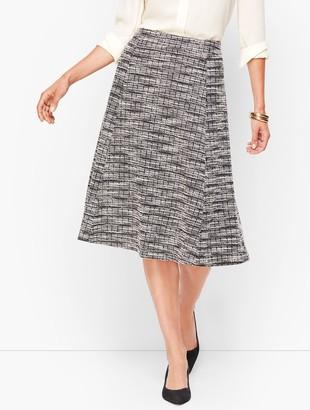 Talbots Knit Tweed Skirt