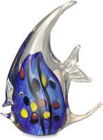 Dale Tiffany Angel Fish Figurine in Blue