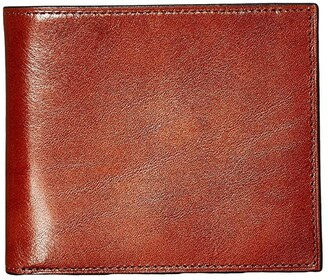 Bosca Old Leather Collection - Credit Wallet w/ I.D. Passcase (Amber) Wallet Handbags