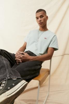 Levi's Harbour Grey Short Sleeve Original Tee - Grey S at Urban Outfitters