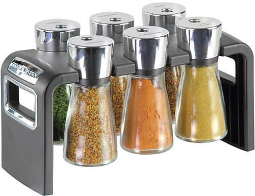 Cole & Mason 6 Jar Spice Rack