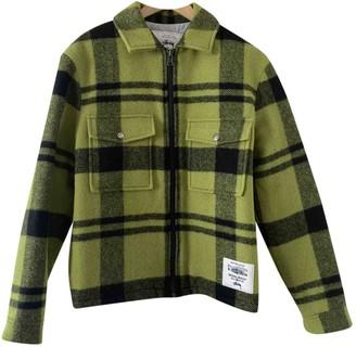 Stussy Green Wool Jackets