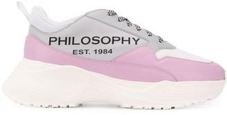 Philosophy di Lorenzo Serafini Logo Printed Chunky Sneakers