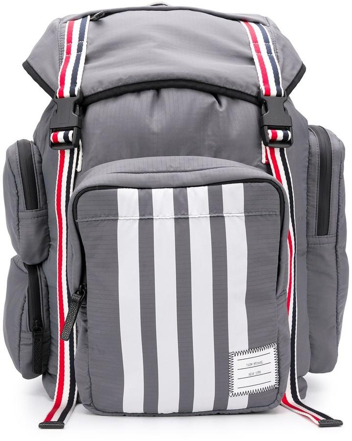 Thom Browne medium 4-Bar backpack