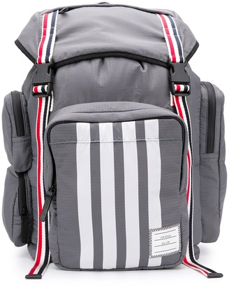 Thom Browne medium 4-Bar backpack