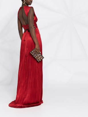 Maria Lucia Hohan Adela ruched drape gown