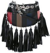 Sonia Rykiel 'Domino' crossbody bag - women - Leather/Cotton - One Size