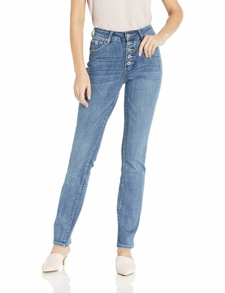 Jag Jeans Women's Gwen Button Fly Straight Jean