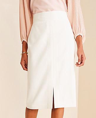 Ann Taylor Petite Stitched Pencil Skirt