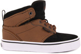 Vans Leather and Suede Atwood Hi Trainers Camel