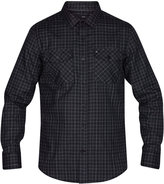 Hurley Men's Cascade Plaid Shirt
