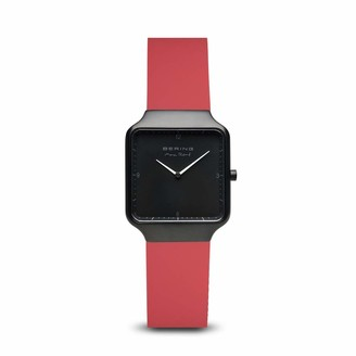 Bering Womens Analogue Quartz Watch with Silicone Strap 15832-523
