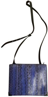 Alexander Wang \N Blue Python Handbags