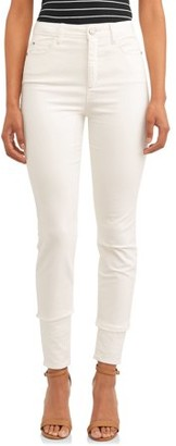 Time and Tru Women's High Rise Sculpted Corduroy Jegging