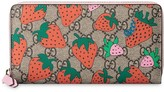 Gucci GG wallet with Strawberry print