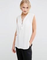 Just Female Trine Tie Shirt