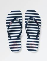Fat Face Hope Stripe Flexi Flip Flops
