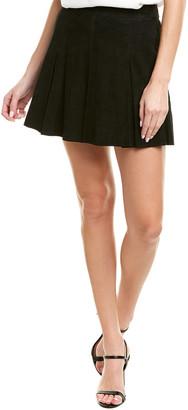 Alice + Olivia Lee Suede Mini Skirt