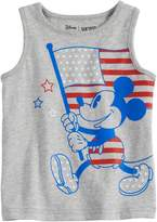 Disneyjumping Beans Disney's Mickey Mouse Toddler Boy Patriotic Flag Softest Tank Top by Jumping Beans