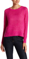 Rebecca Taylor Brushed Pointelle Pullover