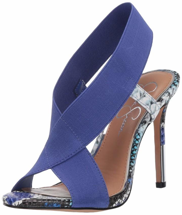 Jessica Simpson Blue Heels   Shop the