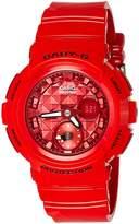 Casio Women's Baby G BGA195M-4A Rubber Quartz Sport Watch
