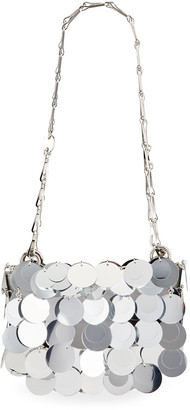 Paco Rabanne Sparkle 1969 Nano Iconic Oversized Sequin Clutch Bag