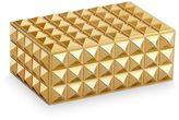 L'OBJET Pyramide Gold Small Rectangular Box