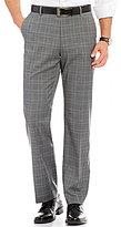 Murano Zac Modern Classic-Fit Flat-Front Check Pants