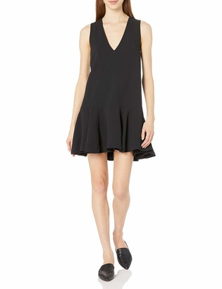 French Connection Women's ARO Crepe Fluted Dress