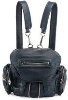 Alexander Wang Mini Marti Leather Backpack, Petrol/Nickel