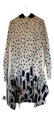 Vionnet Ecru Viscose Dresses