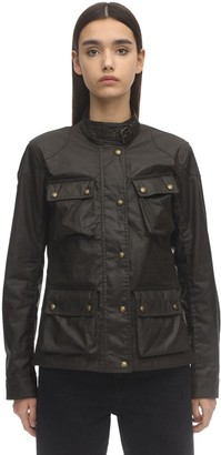 Belstaff Multi-pocket Waxed Cotton Jacket
