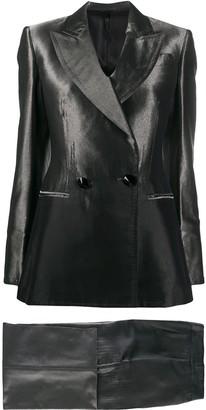 Gianfranco Ferré Pre-Owned 1990s Metallic Sheen Two-Piece Suit