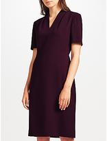 John Lewis Lily Crepe Dress, Purple