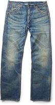 Ralph Lauren RRL Straight-Fit Buckled-Back Jean