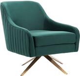 Safavieh Couture Leyla Channeled Velvet Chair