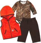 Carhartt Mustang Brown & Realtree Xtra® Fleece Pants Set - Infant
