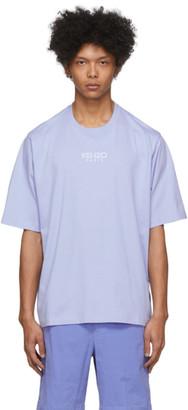 Kenzo Purple Oversize Sport Logo T-Shirt