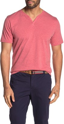 Public Opinion Short Sleeve Notched Collar T-Shirt