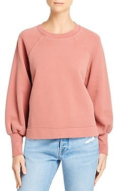 Frame Easy Distressed Trim Sweatshirt - 100% Exclusive