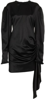 Magda Butrym silk backless torance dress