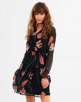 Vero Moda Rose Frill LS Short Dress