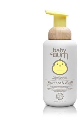 Sun Bum Baby Bum Shampoo and Wash - Natural Fragrance