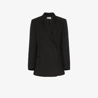 Totême Loreo double-breasted oversized blazer jacket
