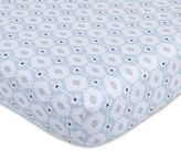 Petunia Pickle Bottom Southwest Skies Jersey Fitted Crib Sheet in Grey/Blue
